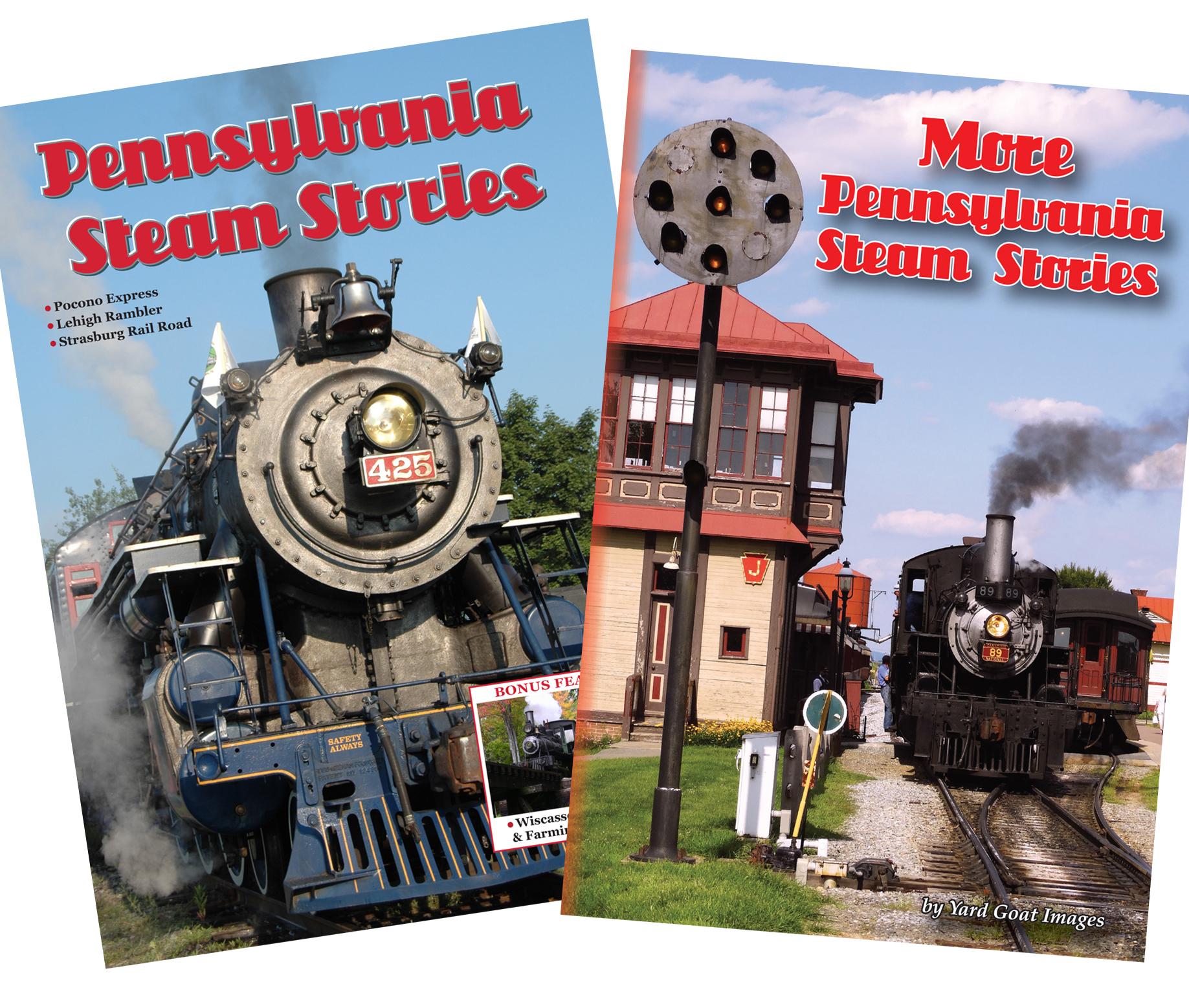 Pennsylvania Steam/More Pennsylvania Steam COMBO 1502