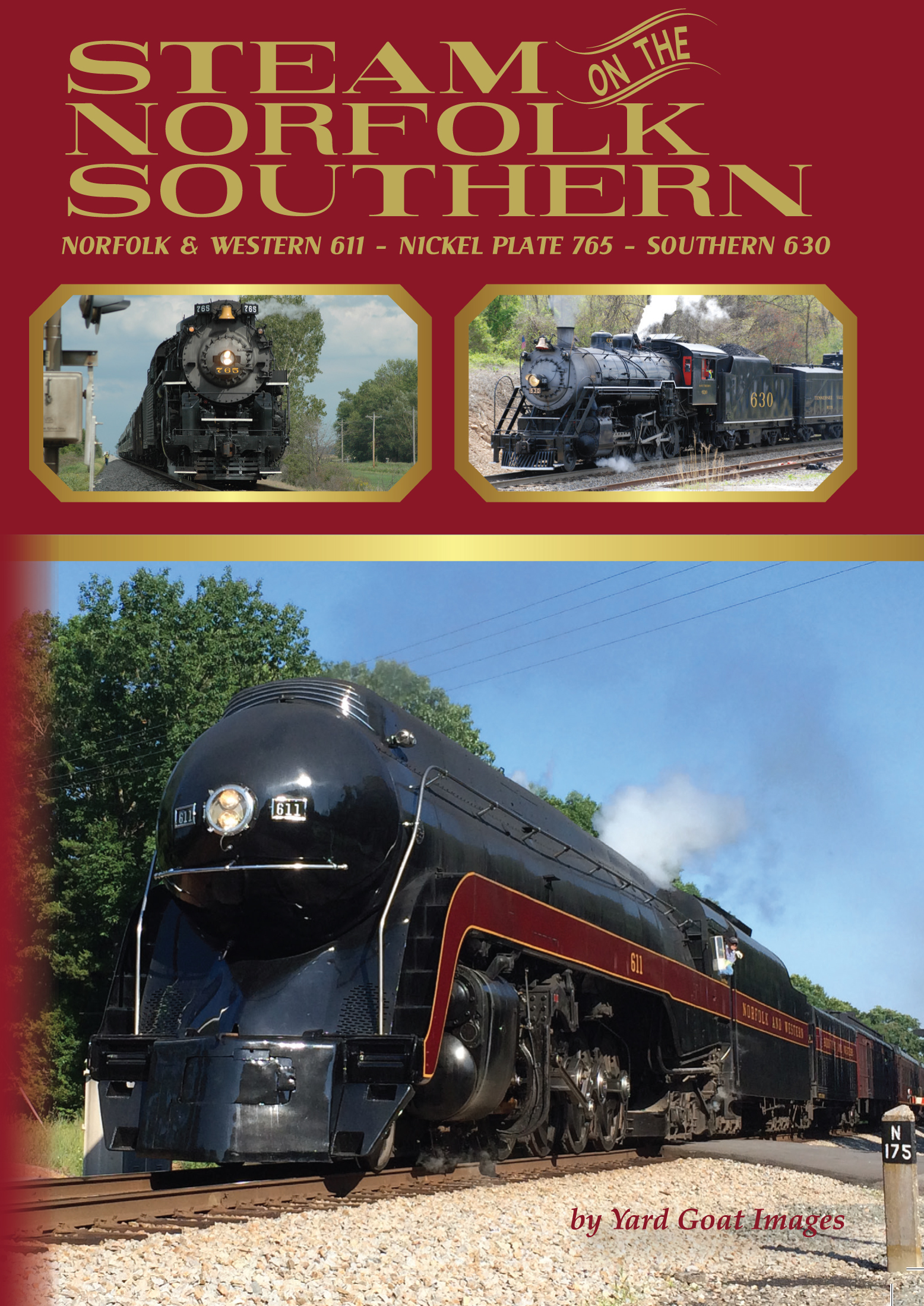 Steam on the Norfolk Southern: Norfolk & Western 611 - Nickel Plate 765 - Southern 630 1547