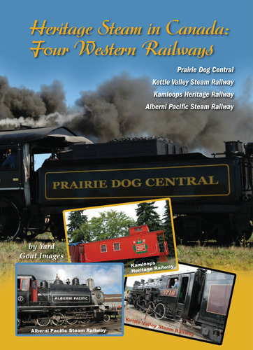 Heritage Steam in Canada: Four Western Railways 1215