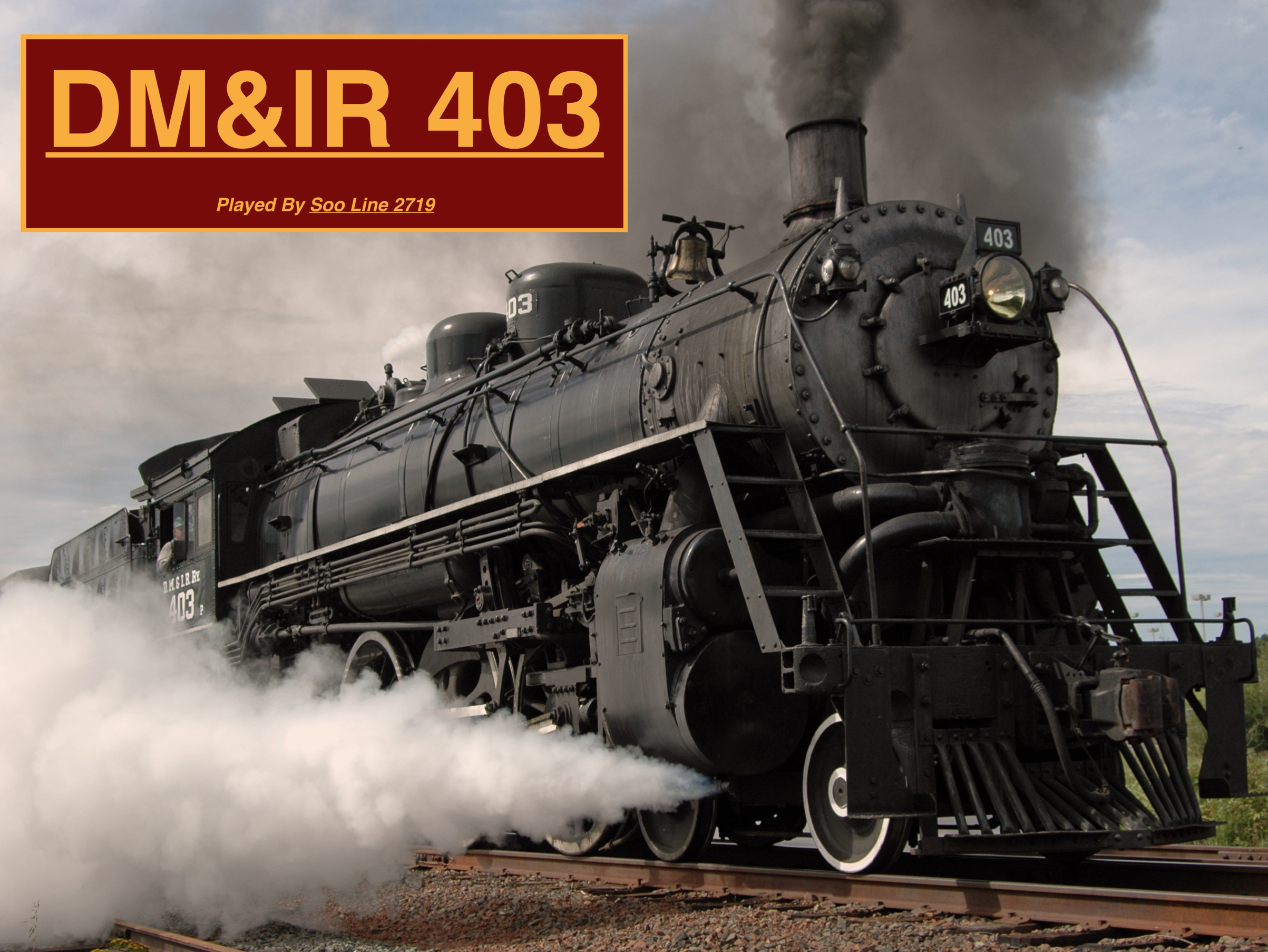 DM&IR 403 DMIR 403