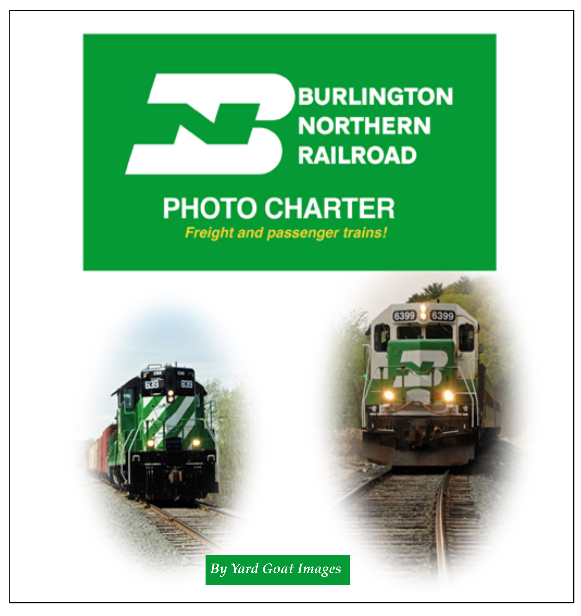 Burlington Northern Photo Charter BN Charter