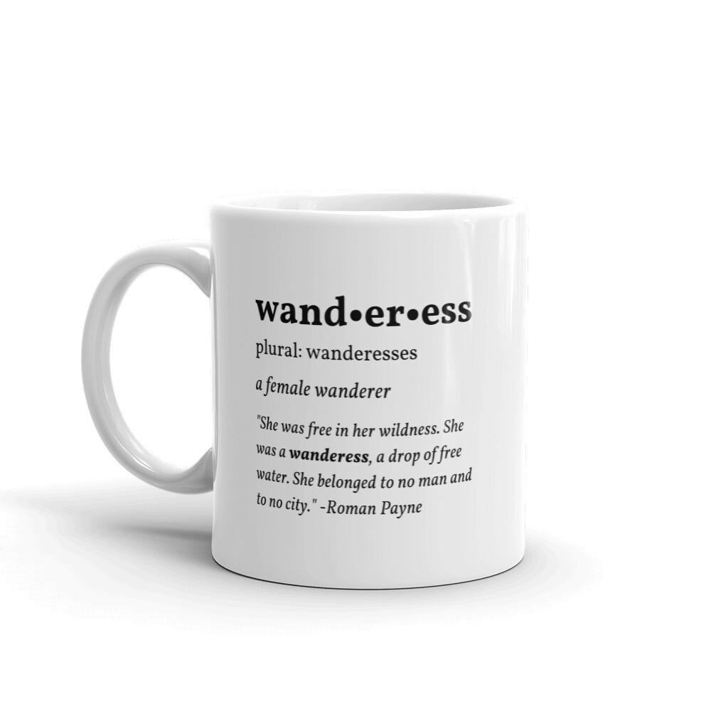 Wanderess Definition Mug