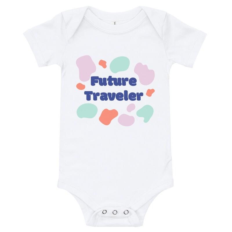 Future Traveler Baby Onesie