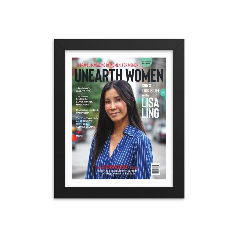 Framed Lisa Ling Cover (Issue 02)