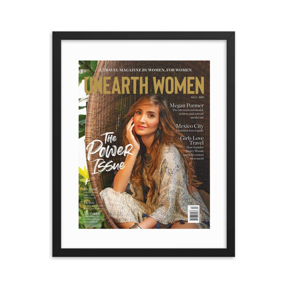 Framed Megan Pormer Cover (Issue 03)