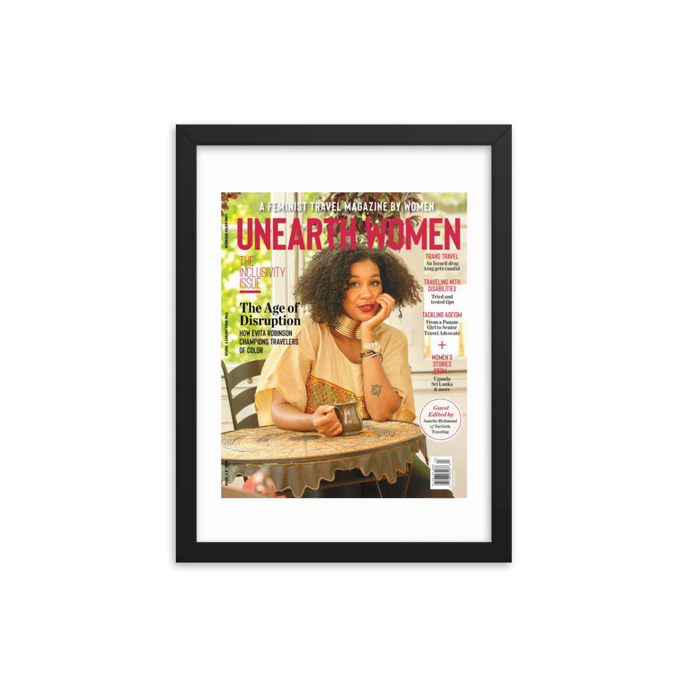 Framed Evita Robinson Cover (Issue 04)
