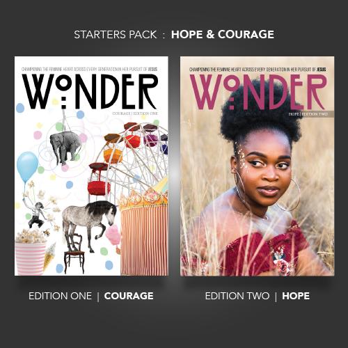 Wonder Magazine Bundle  |  LIMITED AVAILABLE!