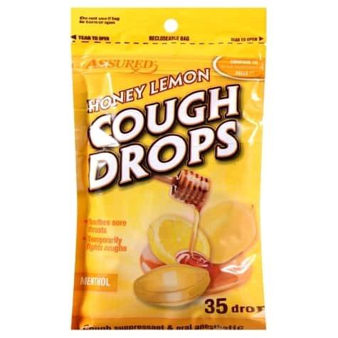 Honey-Lemon Cough Drops, 35-ct. 00111