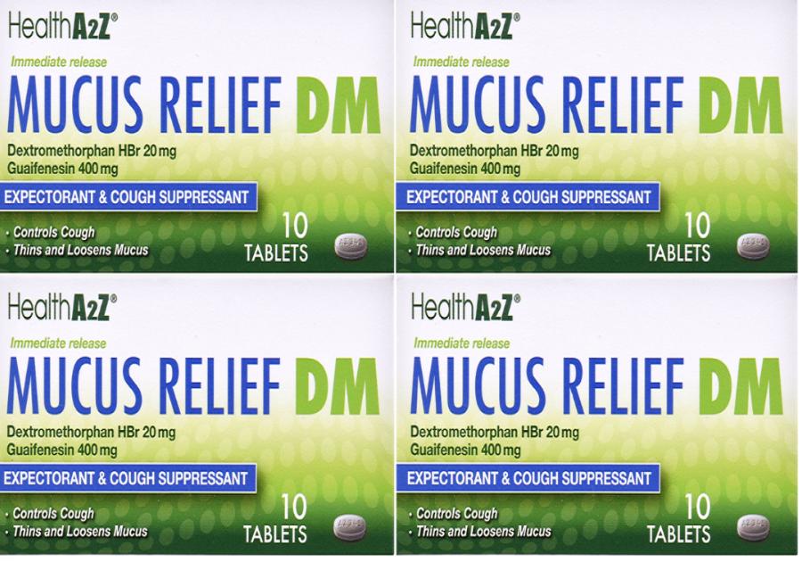 Mucus Relief DM 600 mg ER 00231