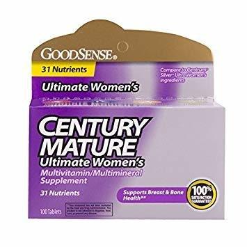 Century Mature Women 50+ Vitamins, 100 ct. 00082