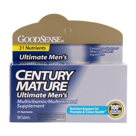 Century Mature Men 50+ Vitamins, 100 ct. 00083