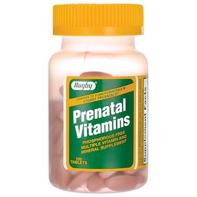 Prenatal Vitamins, 100 ct. 00129
