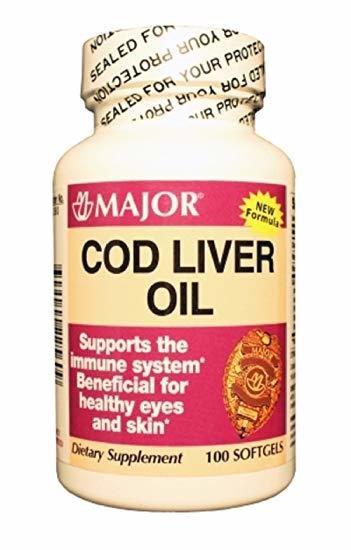 Cod Liver Oil, 100 ct. 00171