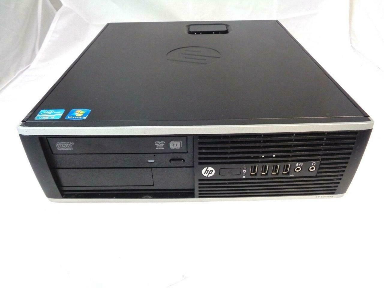 HP Compaq Pro Intel i3 Core 3.1GHz 4GB RAM 250GB HDD Win 7 Pro