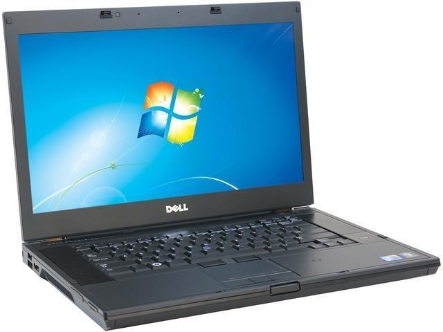 "Dell Latitude 15.6"" Laptop - Intel i5 2.5 GHz 4GB 180GB SSD DVD Win 10"