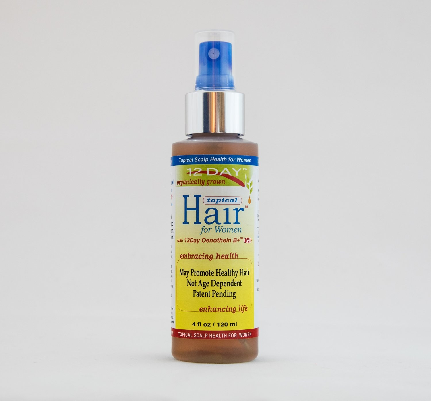 12Day Topical Hair 4 oz. (3-4-Month Supply)