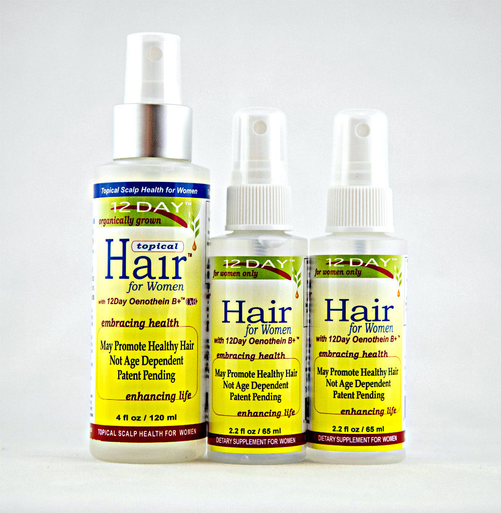 12Day Hair & 12Day Topical Hair Kit 0102