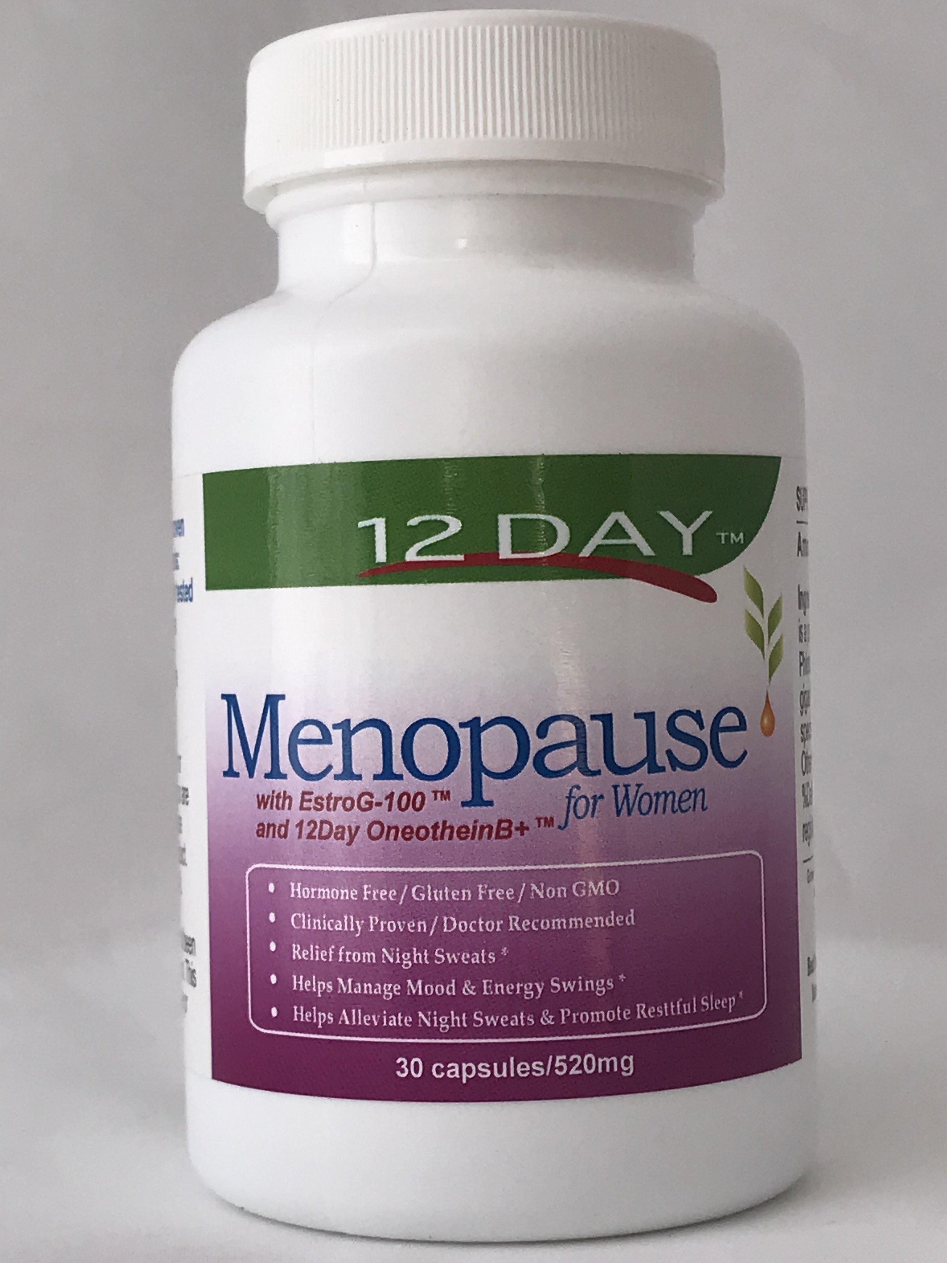 12Day Menopause Capsules (30-Day Supply) 755702039949