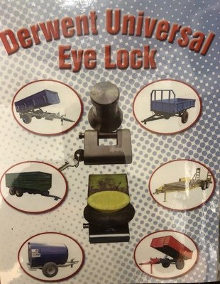 Towing Eye Trailer Hitch Lock for Plant & Farm Machinery