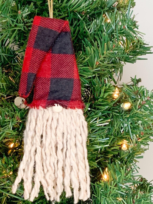 Gnome Christmas Ornament