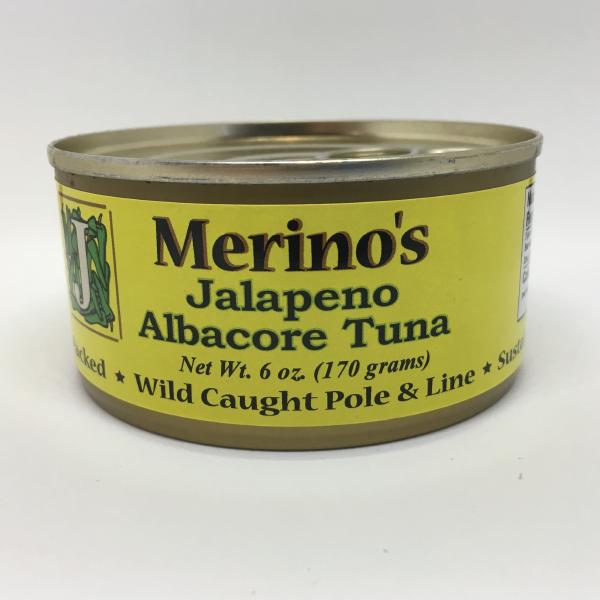 Merino's Jalapeno Albacore Tuna 00003