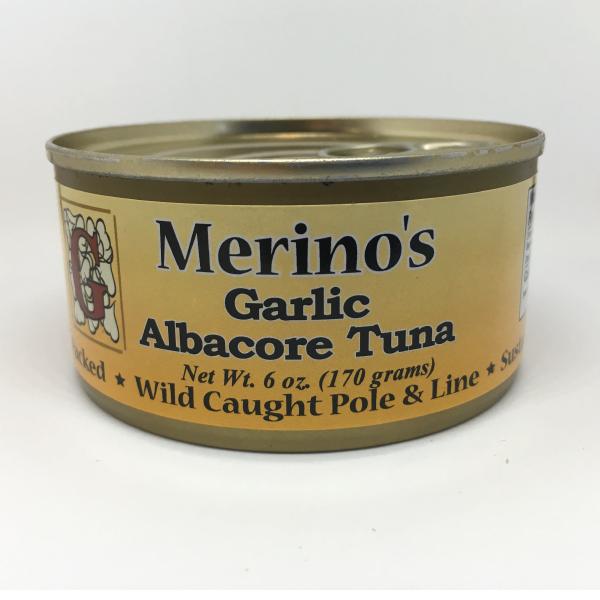 Merino's Garlic Albacore Tuna 00005