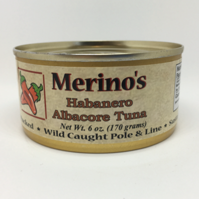 Merino's Habanero Albacore Tuna