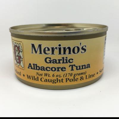 Merino's Garlic Albacore Tuna