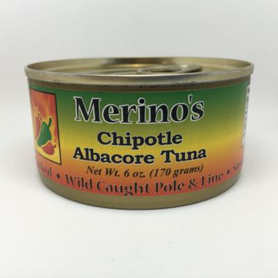 Merino's Chipotle Albacore Tuna