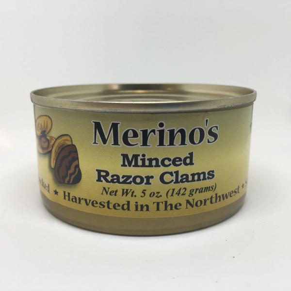 Merino's Minced Razor Clams 00010