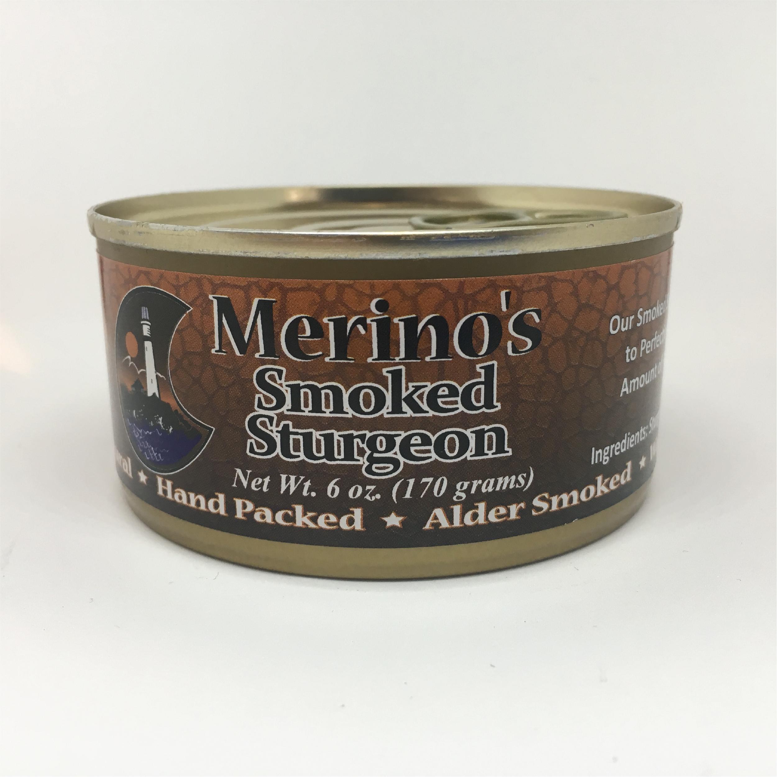 Merino's Smoked Sturgeon 00022