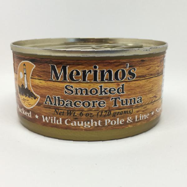 Merino's Smoked Solid White Albacore Tuna 00008