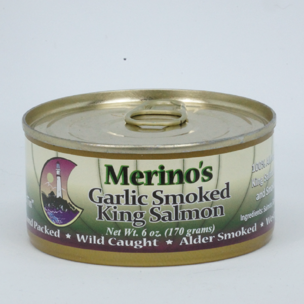 Merino's Wild Garlic Smoked King Salmon 00014