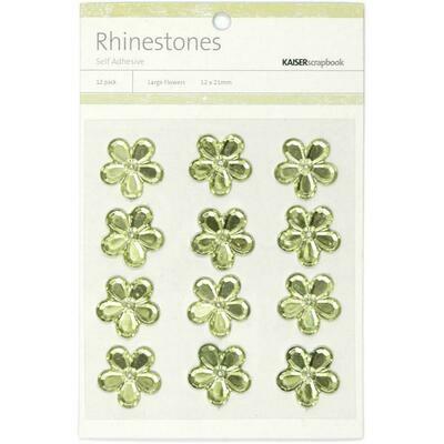Mint rhinestones