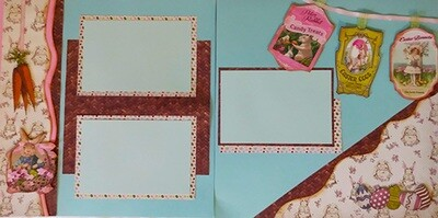 Easter two page layout