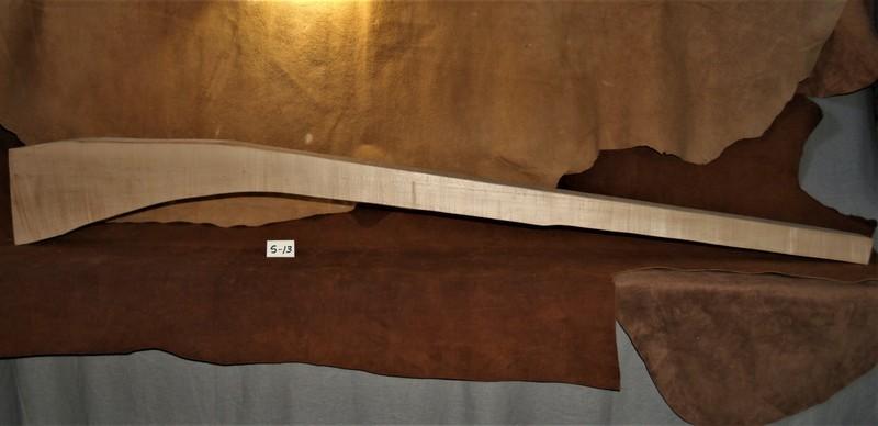 PLR  Sugar Maple; Quarter Sawed; Butt log cut;  63 5/8
