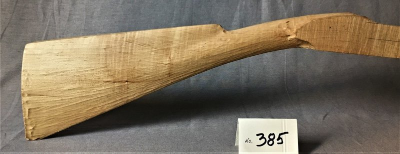 Eastern Tennesee Pre-carved Stock;  Curly Sugar Maple