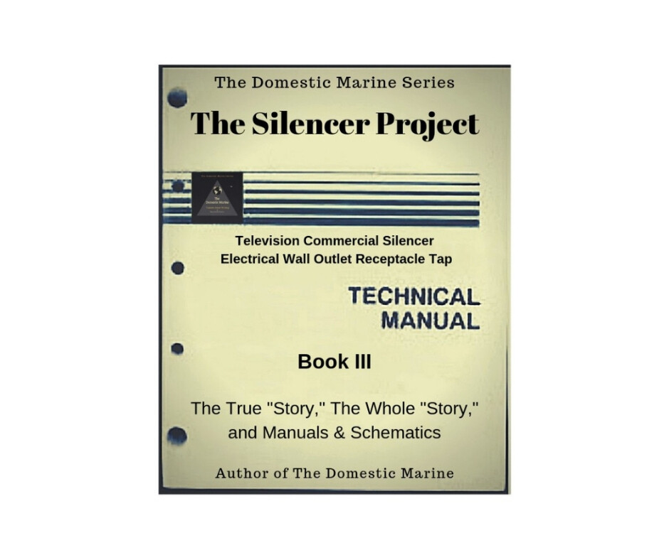 """Book entitled: """"The Silencer Project."""""""
