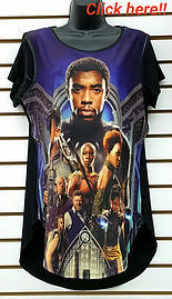 Black Panther Dress Tee (Women)