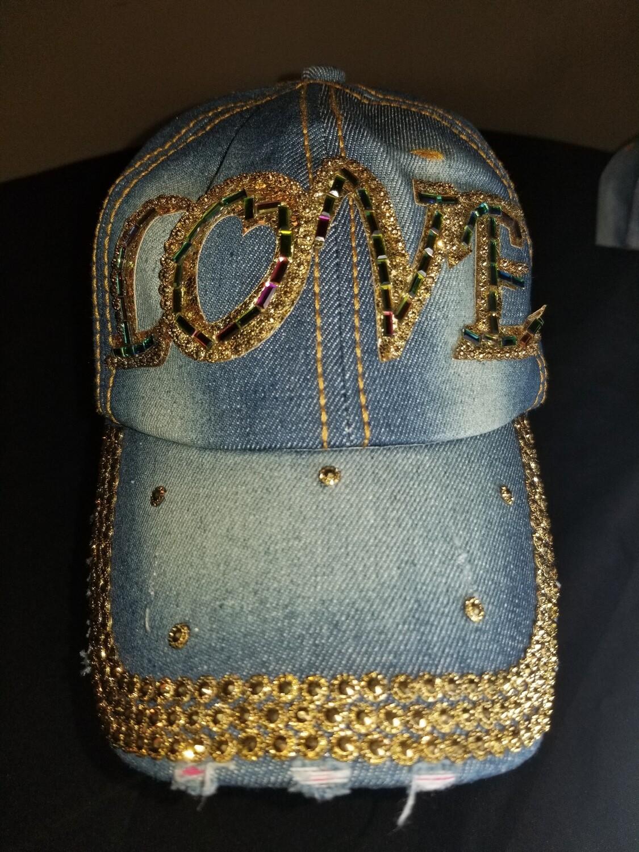 Love Medium Denim Hat