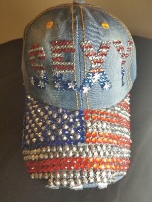 Sexy American Rhinestone Hat