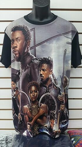 Black Panther Grey Shirt