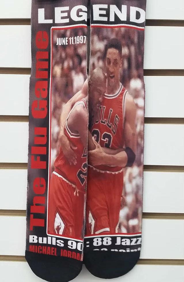 FLU GAME Michael Jordan & Scottie Pippen