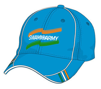 Swami Army Supporter Cap