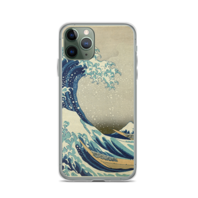 The Great Wave Off Kanagawa - iPhone Case