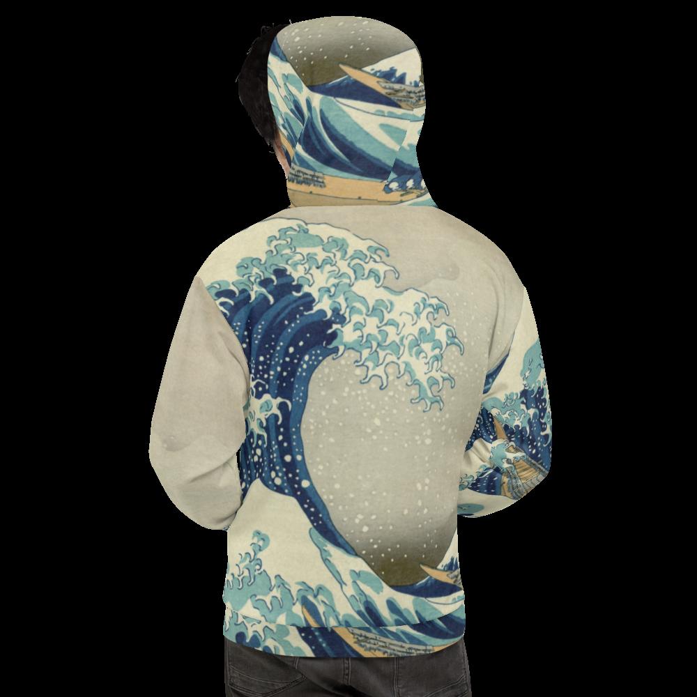 The Great Wave Off Kanagawa - Unisex Hoodie