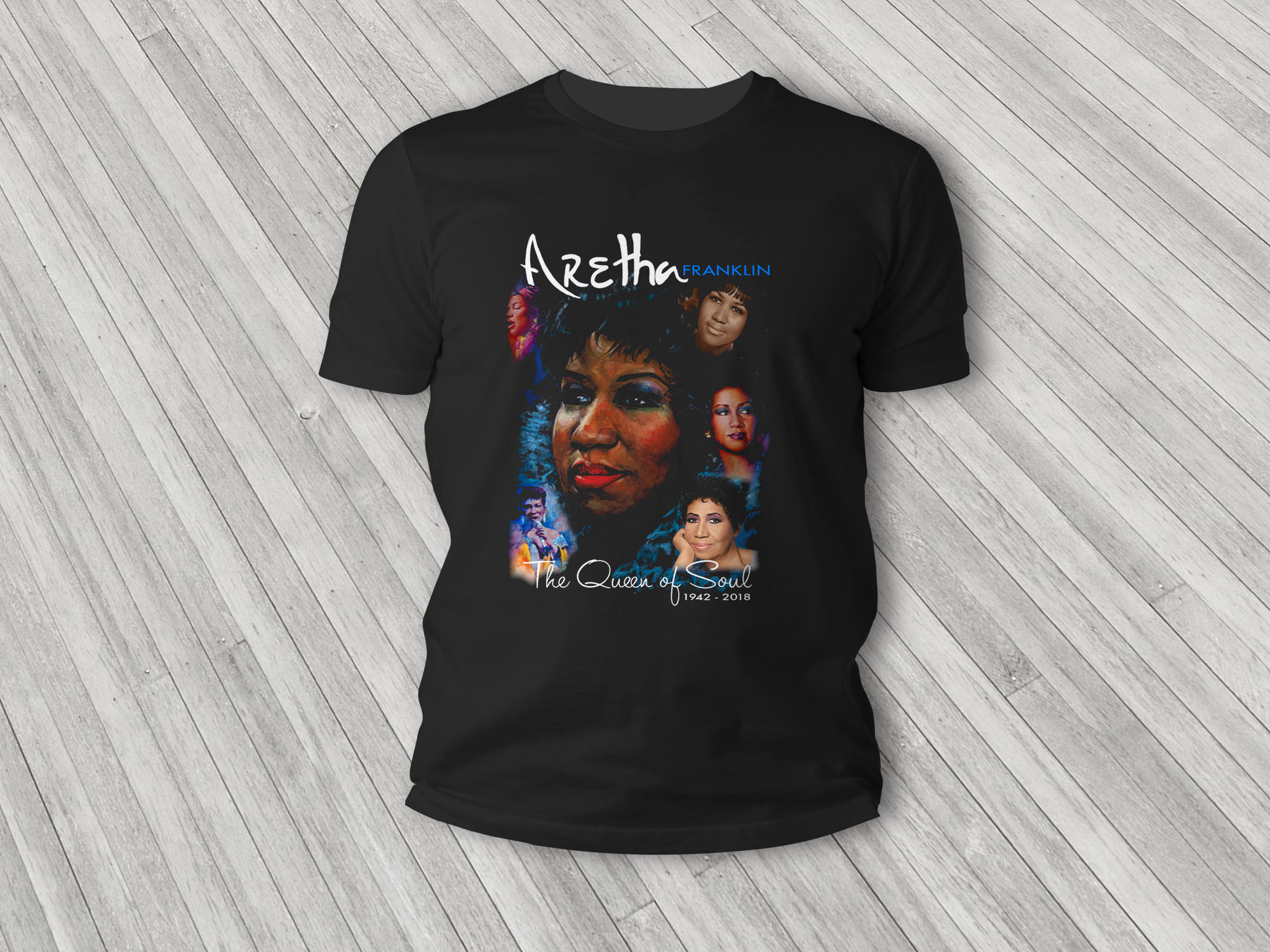 Aretha Franklin T-Shirt 00003