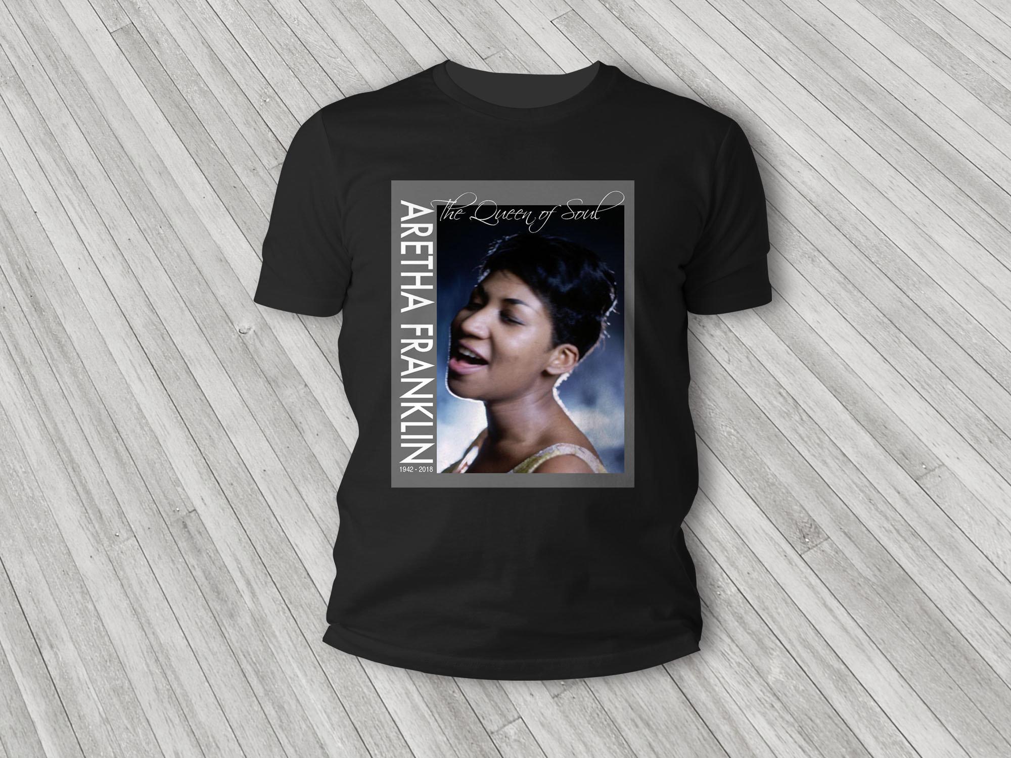 Aretha Franklin Classic T-Shirt 00004