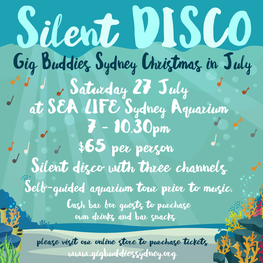 Christmas In July 2019 Images.Silent Aquarium Disco Christmas In July