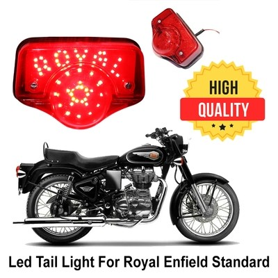 LED Tail Light For Royal Enfield Standard